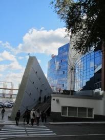 Saratov State University's School of Law, fieldwork (September of 2011)